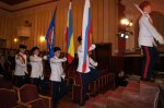 Казаки чешских земель провели панихиду и митинг в Праге