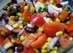 Рецепт зимнего овощного салата