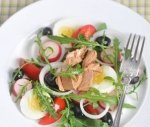 Рецепт салата нисуаз с рукколой
