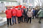 Белокалитвинские коммунисты провели митинг в честь дня Защитника Отечества