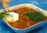 Рецепт щей с квашеной капустой и мятой картошкой