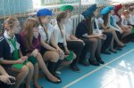 В школе № 2 прошло открытие мобильного автогородка, приуроченное к 40-летию создания отрядов ЮИД