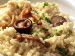 Рецепт итальянского ризотто с лесными грибами