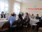 Центр социального обслуживания празднует 8 марта