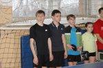 Команда школы № 2 заняла 1 место в соревнованиях по настольному теннису