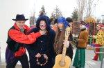 На площади Театральной прошел праздник масленицы