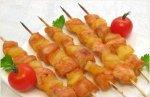 Рецепт шашлыка «Домашнего» с куриным филе и помидорами