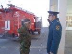 Кадетский корпус провел учебную пожарную эвакуацию