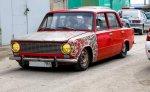 В воскресенье в Ростове, полиция разгоняла несанкционированную встречу любителей низко посаженных машин