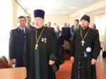 Расширенный совет атаманов Усть-Белокалитвинского юрта в Коксовской казачьей школе