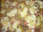 Рецепт овощной слоеной запеканки с мясом и сыром