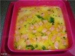 Рецепт сырного супа с колбасой