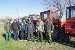 В Белокалитвинском районе проходит ежегодный технический осмотр самоходной техники