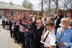 В школе № 7 поселка Шолоховский отрабатывали пожарную тревогу в начальной школе