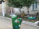 Жители Белой Калитвы и района украшают территорию своего проживания