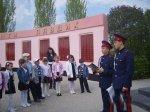 Кадеты-платовцы провели экскурсию школьников по памятным местам Белой Калитвы