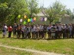 Торжественный митинг в поселке Коксовом в честь Дня Победы