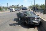 В Волжском инспектор ДПС спас от смерти человека, пострадавшего в страшной аварии