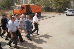 Губернатор Ростовской области в ходе рабочей поездки посетил железнодорожную станцию Белая Калитва