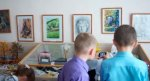 Видео - Выставка рисунков и поделок воспитанников Детского Дома Творчества