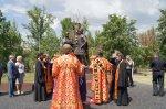 Губернатор Ростовской области открыл памятник Петру и Февронье в Белой Калитве