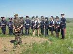 Белокалитвинские кадеты отдали дань памяти могилам воинов-героев