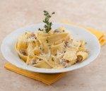 Рецепт: Папарделле с белыми грибами