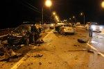 На выезде из Ростова в тройном ДТП погибли два человека
