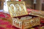 Ростовскому кафедральному собору, передали в дар из Италии  частицу креста Господня