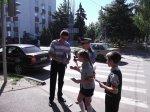 """В рамках операции «Внимание – дети!» прошла акция """"Пешеход – на переход"""""""