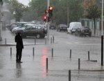 Циклон принес на Кубань сильные ливни и град