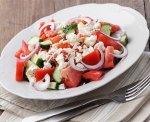 Рецепт: Салат по‑шопски