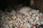 На территории бывшего мясокомбината огромные кучи мусора