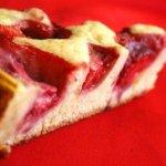 Рецепт: Клубничный пирог с ванилью