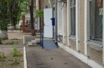 Пандус у почтового отделения по улице Дзержинского установлен неправильно