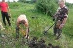 Белокалитвинские кадеты вели раскопки в заброшенном казачьем хуторе