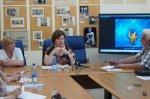 В областном Доме журналистов прошла встреча с министром здравоохранения Ростовской области Т.Ю. Быковской