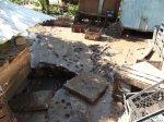Последствия наводнения в Ильинке