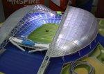 """На олимпийском стадионе """"Фишт"""" устанавливают зрительские кресла"""