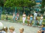 Во дворе дома № 6 по улице Ветеранов прошел детский концерт