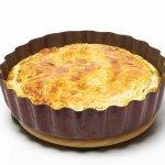 Рецепт: Киш с беконом и сыром
