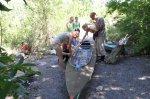 Белокалитвинские кадеты пошли в водный поход на байдарках