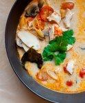 Рецепт: Суп том‑ям‑кунг