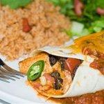 Рецепт: энчиладос с фасолью