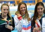 На Всемирной Универсиаде Юлия Ефимова, выиграла вторую золотую медаль