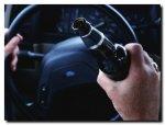 В Волгограде был задержан водитель который пил пиво за рулем