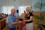 Прошло награждение участников ликвидации аварии на железнодорожной станции Белая Калитва