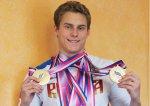 Волгоградский пловец Владимир Морозов на Универсиаде взял третье золото и установил 2 рекорда
