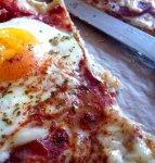 Рецепт: Пицца утренняя