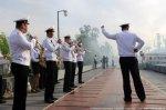 В Астрахани на День ВМФ станцуют корабли